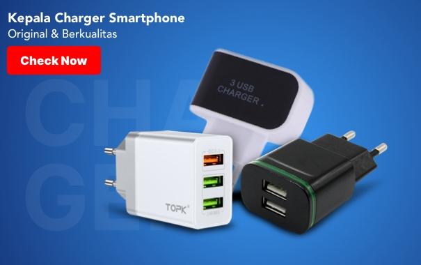 Kepala Charger Smartphone