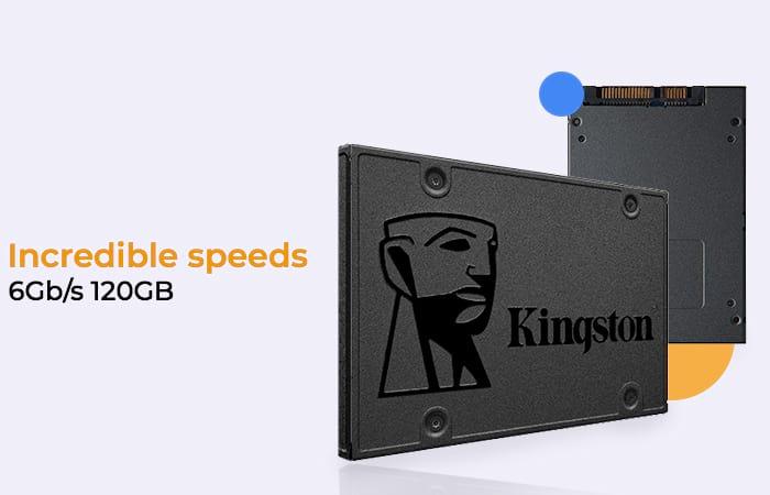 KINGSTON A400 SSD SATA3 6Gb/s 120GB