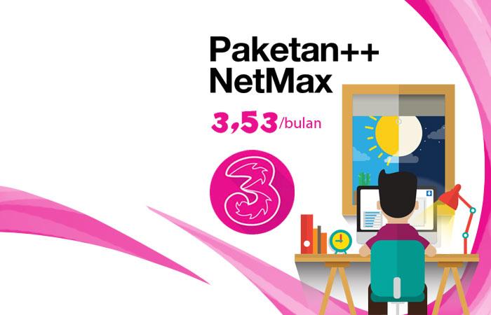 Paketan NetMax Tri Reguler + NetMax