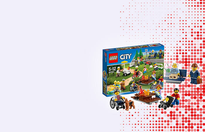 Lego City People Pack Fun In The Park - 60134