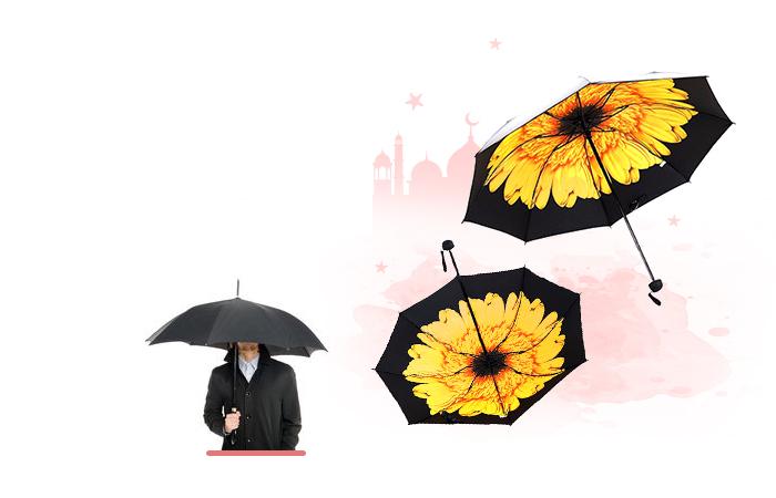 Payung bermotif