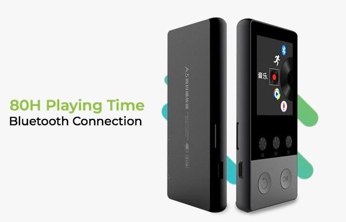 Bluetooth HiFi DAP MP3 Player