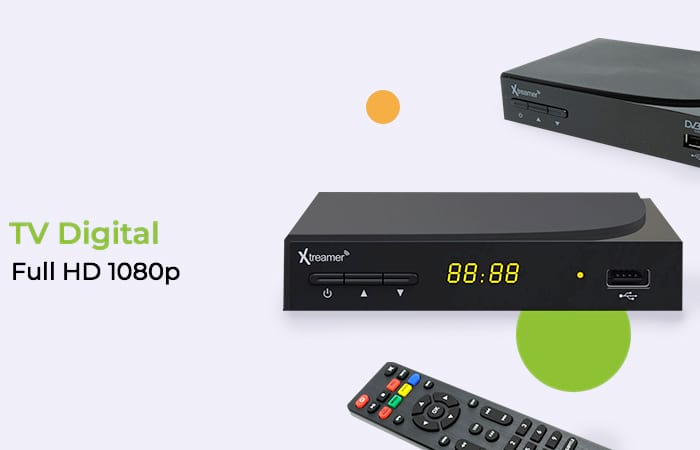 Xtreamer BIEN 3 Set Top Box DVB-T2