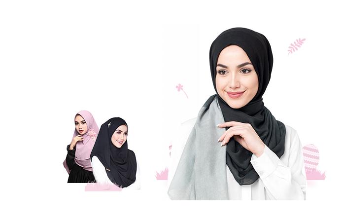 Hijab Chiffon Shawls