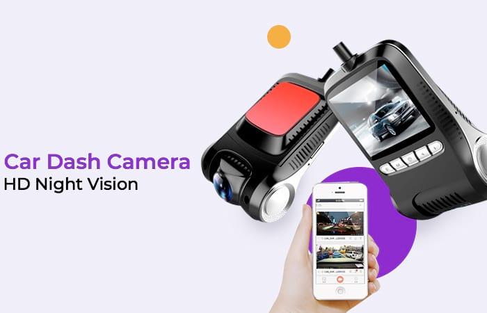 Car Dash Camera WiFi DVR Mobil LCD 2 Inch