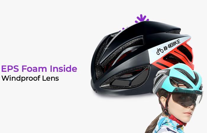 INBIKE Helm Sepeda MTB Ultralight Windproof
