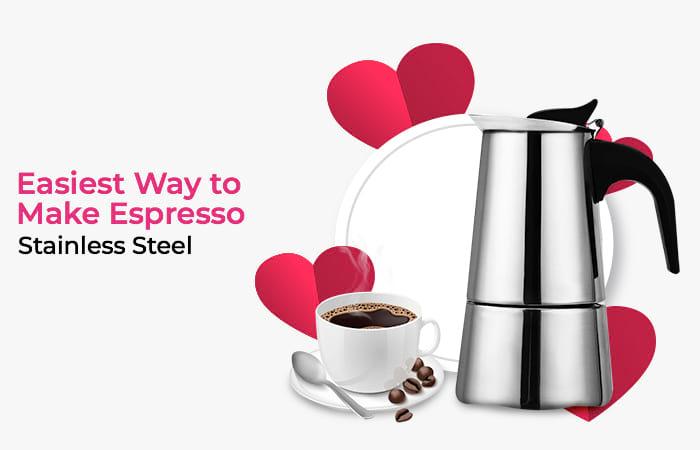 Teko Espresso Coffee Stovetop Filter 300ml