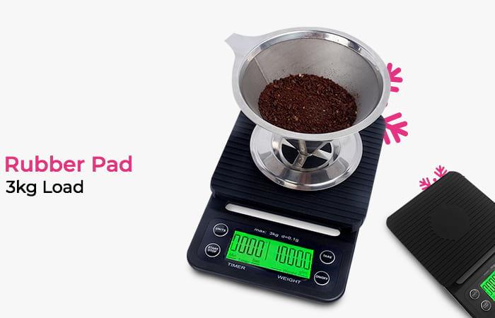 Timbangan Dapur 3kg 0.1g dengan Timer