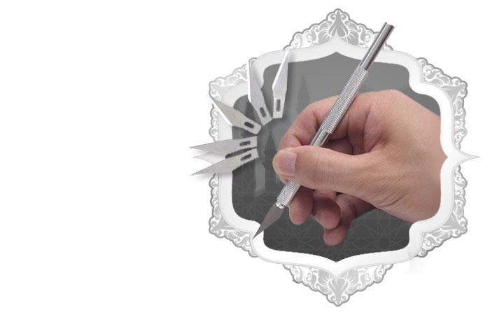 Metal Handle Hobby Craft Knife