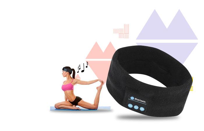 Headband Musik Bluetooth