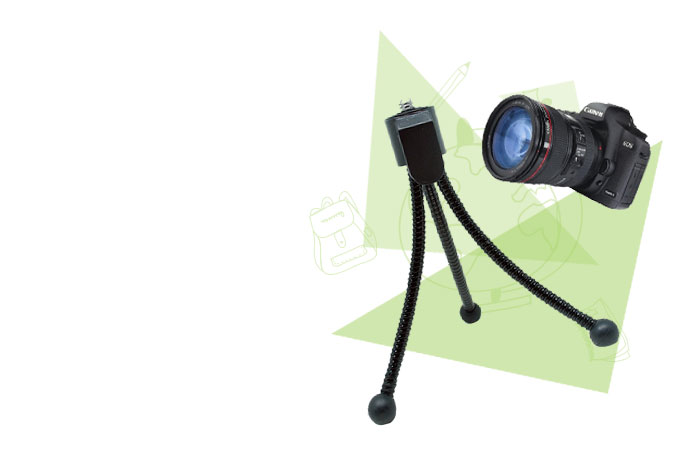 Mini Flexible Multifunction Tripod