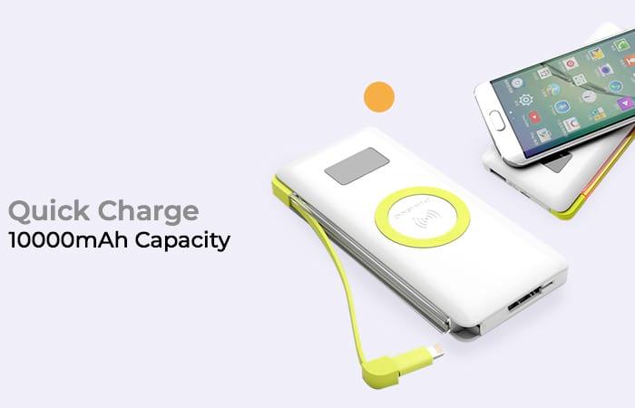 Pineng Qi Wireless Charging Power Bank