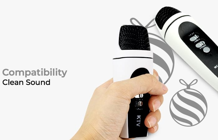 KTV Siborie Mobile Microphone for Smartphone