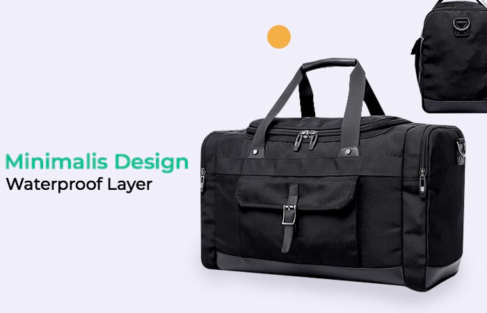 Fashion Travel Duffel Bag Waterproof