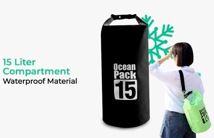 Outdoor Waterproof Bucket Dry Bag 15 Liter
