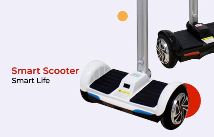 Hoverboard Handle Scooter 8 Inch