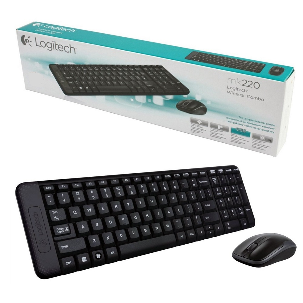 b90019a5612 Asus Compute Stick Mini PC with Logitech Wireless Keyboard - QM1 - Black -  7 ...