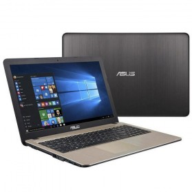 ASUS X540NA-GO001T Intel N3350 4GB 500GB 15.6 Inch Windows 10 - Black