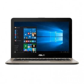 Asus X441NA-PQ401T Intel N4200 4GB 500GB 14 Inch Windows 10 - Black