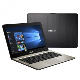 Asus X441BA-GA611T AMD A6-9225 4GB DDR4 1TB 14 Inch Windows 10 - Brown