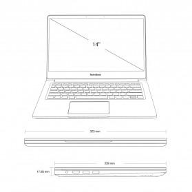 Xiaomi RedmiBook Intel i5-8265U NVIDIA MX250 8GB 256GB 14 Inch Windows 10 - Silver - 4