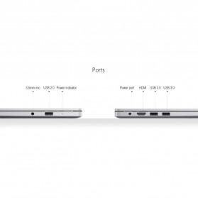 Xiaomi RedmiBook Intel i5-8265U NVIDIA MX250 8GB 256GB 14 Inch Windows 10 - Silver - 5