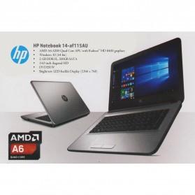 HP 14-AF115AU AMD APU A6-5200 2GB 500GB 14 Inch Windows 10 - Silver - 4