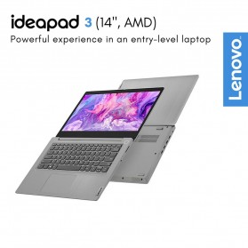 Lenovo Ideapad Slim 3 14ARE05 AMD Ryzen 3 4300U 2.7/3.7GHz 8GB 512GB SSD 14 Inch Windows 10 - 81W3001YID - Black - 4