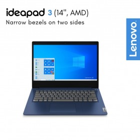 Lenovo Ideapad Slim 3 14ARE05 AMD Ryzen 3 4300U 2.7/3.7GHz 8GB 512GB SSD 14 Inch Windows 10 - 81W3001YID - Black - 5