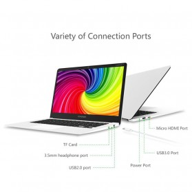 Chuwi LapBook Intel Celeron N3450 4GB 64GB 14 Inch Windows 10 - White - 7