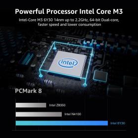 Chuwi AeroBook Intel Core M3-6Y30 8GB 256GB 13.3 Inch Windows 10 - Black - 3