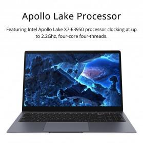 Chuwi LapBook Plus Intel Atom X7-E3950 8GB 256GB 15.6 Inch Windows 10 - Gray - 3