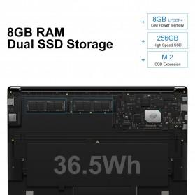 Chuwi LapBook Plus Intel Atom X7-E3950 8GB 256GB 15.6 Inch Windows 10 - Gray - 4