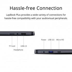 Chuwi LapBook Plus Intel Atom X7-E3950 8GB 256GB 15.6 Inch Windows 10 - Gray - 6