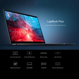 Chuwi LapBook Plus Intel Atom X7-E3950 8GB 256GB 15.6 Inch Windows 10 - Gray - 7