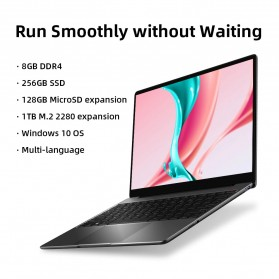 CHUWI CoreBook Pro Intel Core i3 8GB 256GB 2K IPS 13 Inch Windows 10 - Gray - 4