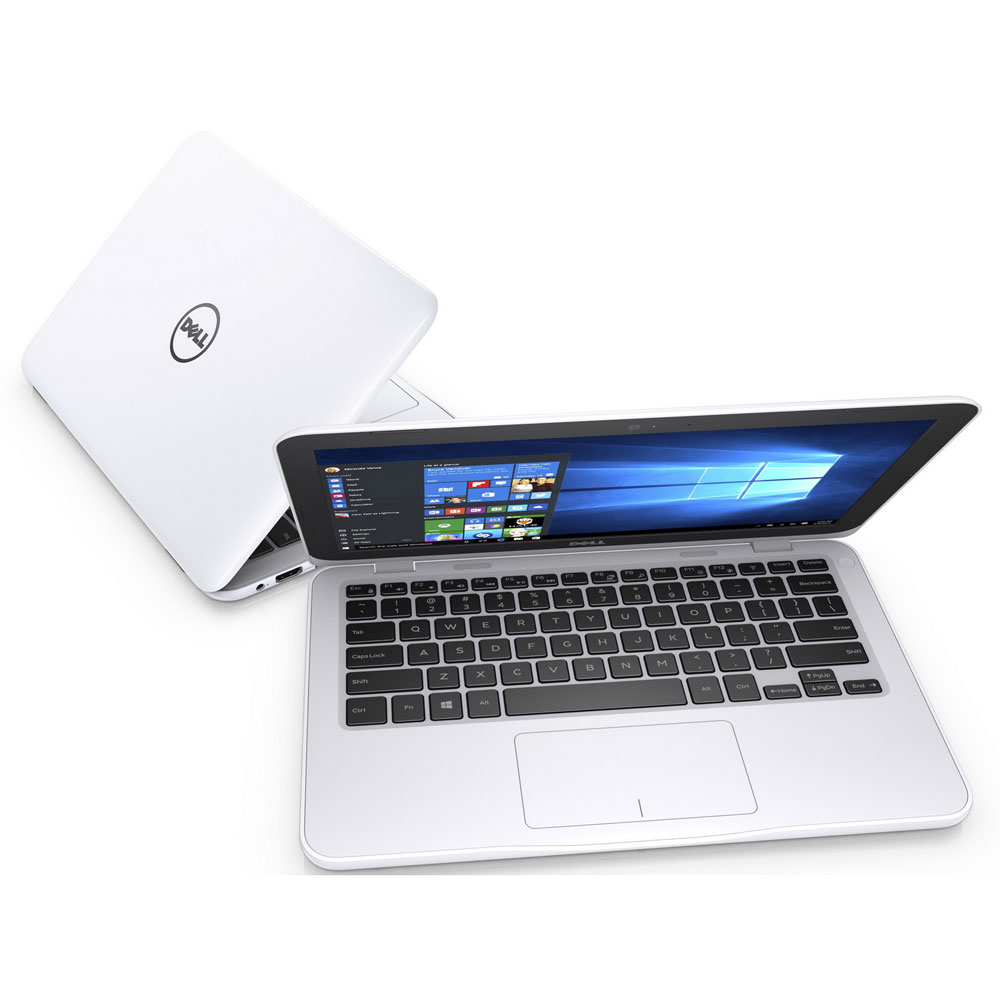 Dell Inspiron 11 3162 Intel Celeron N3050 2gb 500gb 116 Inch Lenovo Yoga 330 N4000 4gb 128gb Hd Win10 Windows 10 White