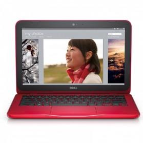 Dell Inspiron 11 3162 Intel Pentium N7300 4GB 500GB 11 Inch Ubuntu - Red - 1