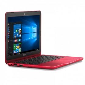 Dell Inspiron 11 3162 Intel Pentium N7300 4GB 500GB 11 Inch Ubuntu - Red - 3
