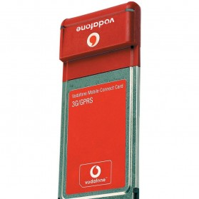 PCMCIA 3G GSM Modem - Option 3G Datacard PCMCIA (14 DAYS) - Red