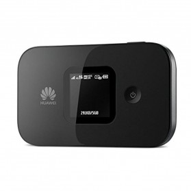 Huawei E5577 Modem 4G MiFi Bundling Simpati 14GB 2 Bulan - Unlock - Black - 3
