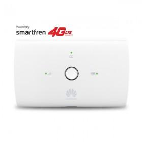 Huawei E5673 Modem 4G Mifi Bundling Smartfren 45GB - White - 3