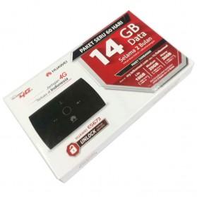 Huawei E5673 Modem 4G Mifi Bundling Telkomsel 14GB - White - 2