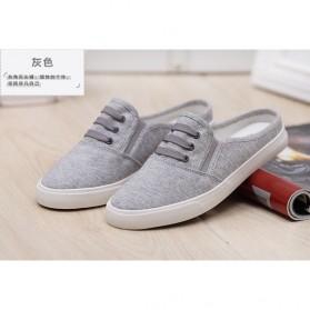 Feiyao Sepatu Sandal Selop Wanita Size 36 - Gray