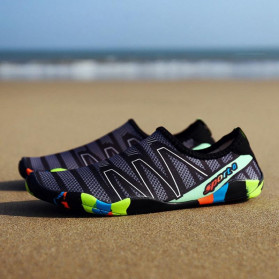 Favolook Sepatu Pantai Slip On Aqua Beach Slippers Size 40 - Fv12 - Green - 7