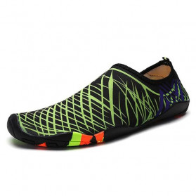 Favolook Sepatu Pantai Slip On Aqua Beach Slippers Size 41 - Fv12 - Green