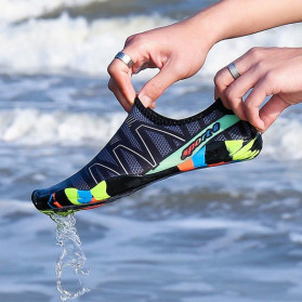 Favolook Sepatu Pantai Slip On Aqua Beach Slippers Size 42 - Fv12 - Green - 2