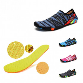Favolook Sepatu Pantai Slip On Aqua Beach Slippers Size 42 - Fv12 - Green - 3