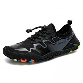 Loekeah Sepatu Pantai Olahraga Air Aqua Shoes Size 43 - SL1929 - Black