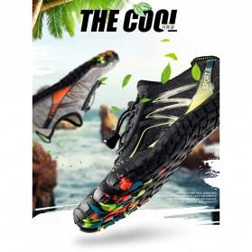 Loekeah Sepatu Pantai Olahraga Air Aqua Shoes Size 43 - SL1818 - Black - 10